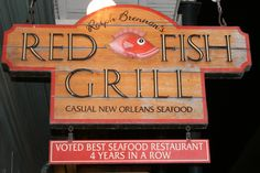 Red Fish Grille - AMAZING food - New Orleans