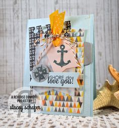 Stacey Schafer: Stacey's Stamping Stage: StampNation - Cards for Him Blog Hop - 4/30/14.  (Reverse Confetti: Happy Harbor, Office Edges stamps; dies: Tag Me).