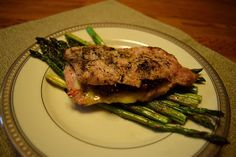 Simply A Rough Draft: Stuffed Pork Chops.and the Rules of Supper Club Tuesday Recipe, Rough Draft, Supper Club, Pork Chops, Tasty Dishes, Steak, Stuffed Pork, Low Carb, Yummy Food