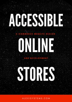 Making your online store accessible helps you not only to contribute to making the whole web accessible to everyone but it also helps you improve your SEO, customer experience, and drive more organic traffic to your site. Use the tips in this article to improve the accessibility of your online store. E Commerce, Online Store Builder, Restaurant Website, Customer Experience, Web Development, Seo, Improve Yourself, Organic, Tips