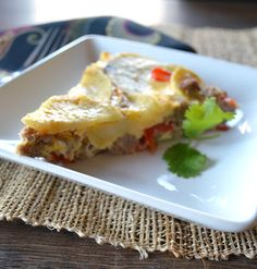 Paleo Girl's Kitchen: Paleo Camping! Plus a recipe for Sweet Sausage Frittata