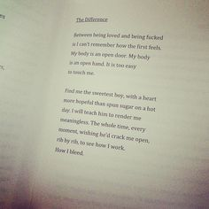 The Difference by Clementine von Radics