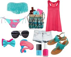 Maui beach outfit :), created by allisonlujan on Polyvore