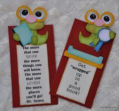 School Bookmarks by MyCraftopia on Etsy, $6.75