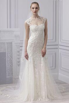 Lace Wedding Dress  Monique Lhuillier 2013 Bridal Collection