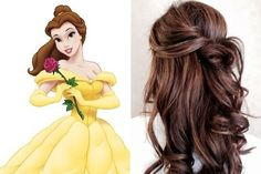 Disney Princess-Inspired Hairstyles | Belle, 'Beauty and the Beast'