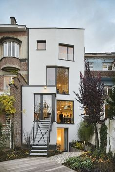Archilovers The Social Network for Architects — CAS 48 House, Brussels   Urban Platform See the...