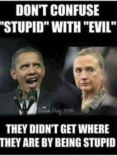 EVIL to the core. And there's more evil to come.....they're not done yet.