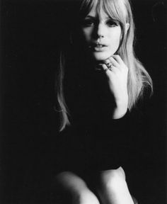 Marianne Faithfull. She was cool then and she's cool now.