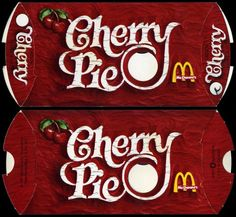 Fried McDonald's Cherry Pies