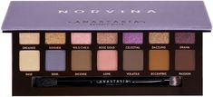Anastasia Beverly Hills Norvina Eyeshadow Palette is Norvina's go-to eyeshadow palette featuring fourteen whimsical shades ranging from bold and bright mattes to soft pastel shimmers.