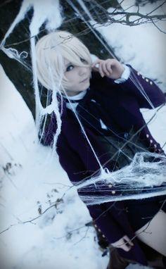 Alois Trancy - Snow by ~GaaSuka #blackbutler #cosplay #kuroshituji