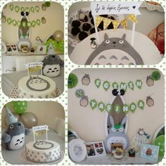 Totoro birthday party!