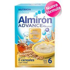 ALMIRON Advance Papilla 8 Cereales con Miel 600g.
