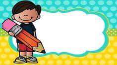 Classroom Clipart, Classroom Labels, Classroom Organization, Classroom Decor, Clever Kids, School Labels, Cute Frames, Back To School Gifts, Kindergarten Writing