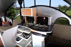 The Alto designs again - I think I'm in love... alto safari condo rv camper trailer 04   Alto Safari Condo is a High Tech and Lightweight Teardrop Trailer
