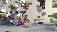 The 10 top TV idents of 2012 Channel Branding, Display Design, 3d Animation, Motion Graphics, 3 D, Lego, Photo Wall, Europe, Winner