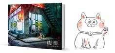 """""""nekoland"""", le livre photo des chats au japon, par alexandre bonnefoy, bloggeur d'issekinicho"""