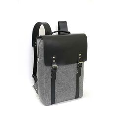 LEATHER 15.6 MACBOOK BACKPACK laptop rucksack genuine by FUTERAL