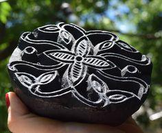 Sari Stamp,texture textile Stamp,Antique Printing,Block Print,wooden stamp,wood display,flower stamp, fabric stamp,batik stamp,print making by RoadSideRose on Etsy