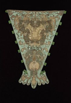 French or Italian, late 17th–early 18th century (stomacher)