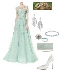 Designer Clothes, Shoes & Bags for Women Royal Fashion, Cute Fashion, Fashion Outfits, Prom Dresses For Teens, Special Dresses, Enchanted Kingdom, Green Pictures, Royal Dresses, Formal Looks