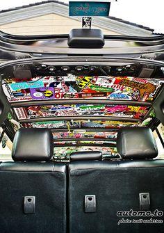 Sticker Bombing on a whole different level Corsa Wind, Toyota Scion Xb, Jdm Stickers, Car Mods, Jeep Mods, Volkswagen Golf Mk2, Honda Civic Hatchback, Sticker Bomb, Audi Cars