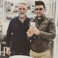 """Repost barone_piero Tra siciliani ci capiamo al """"volo""""... #Haircut #firenze #Sarino"""