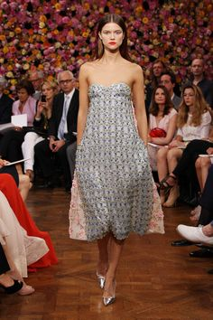 Kasia Struss in Christian Dior Fall 2012 Couture