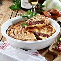 Bratwurst-Tarte