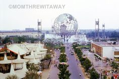 """1964 COLOR SLIDE <a class=""""pintag searchlink"""" data-query=""""%2361"""" data-type=""""hashtag"""" href=""""/search/?q=%2361&rs=hashtag"""" rel=""""nofollow"""" title=""""#61 search Pinterest"""">#61</a> New York NY World's Fair Bird's Eye Africa Greece Unisphere"""