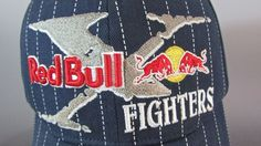 1a23ed6596f17 Fox Racing Red Bull Fighters X-Fighters Fitted Baseball Cap Hat Flex Fit   RedBull