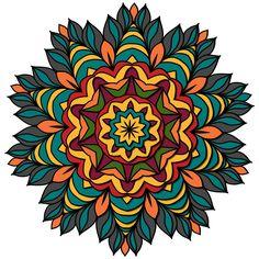 Fiesta Mandala ColorMe Decal
