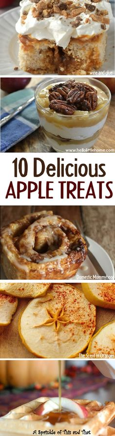 10+ delicious apple recipes to use up all those apples!