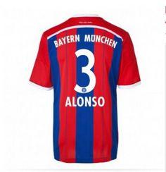 Equipacion ALONSO Bayern Munich primera 2014-2015