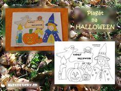 Vyrobte si originálny plagát na HALLOWEEN a oživte si tam halloweensku párty.