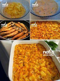 Balık Yanına Lezzetli Fırın Patates