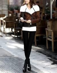 Resultado de imagen para chaquetas en cuero mujer