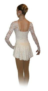 The Swan- Ice Skating Dress