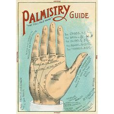 Salem, Massachusetts - A Picture of Good Health - Palmistry Chart Lithograph - Vintage Artwork Giclee Art Print, Gallery Framed, Black Wood), Multi Poster Art, Poster Prints, Art Prints, Art Posters, Vintage Artwork, Vintage Posters, Reading Posters, Palm Reading, Fortune Telling