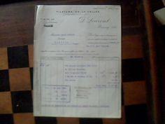 vieux papiers facture filature de la vallée leurent a roncq nord annee 1929 | eBay
