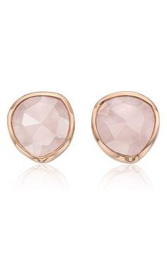 monica vinader siren semiprecious stone stud earrings