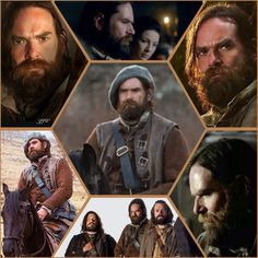 Murtagh Fitzgibbons Fraser. Long ago, he attended a Gathering at Castle Leoch to try to woo the hand of Ellen MacKenzie. During the tynchal, he killed a wounded boar single-handedly, and Colum MacKenzie gave him the tushes which were nearly a perfect double circle. He had them made into a set of bracelets that he gave to Ellen. When Jamie was a week old, Murtagh knelt at Ellen's feet and swore an oath that he would protect Jamie always. | Dragonfly in Amber