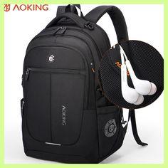 Aoking Brand Men Backpack Light Comfort Fashion Urban Backpack for 15 inch Laptop Breathable Rucksack Mochila School bag