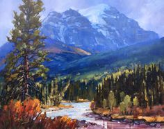 Canadian Artist Jean Geddes is a featured artist at the mountain galleries at the fairmont. Jean's paintings are available. Canadian Painters, Canadian Artists, Jasper Park, Banff Springs, Landscape Paintings, Oil Paintings, Landscapes, Park Lodge, Magic Realism