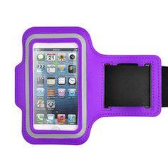 iPhone 5 Armband in Purple