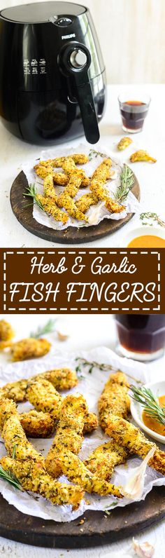 Herb And Garlic Fish Fingers. A traditional snack given a healthy make over by air frying instead of deep frying.  Food Photography and Styling by Neha Mathur.