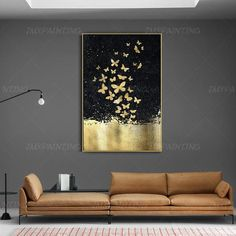 Gold Leaf and Silver leaf set of 2 wall art Abstract butterfly Paintings On Canvas original Wall pictures framed wall art cuadros abstractos Abstract butterfly GoldLeaf Painting print On Canvas ready to hang framed painting print art Wall A Frames On Wall, Framed Wall Art, Canvas Wall Art, Painting Frames, Painting Prints, Painting Canvas, Art Paintings, Painting On Black Canvas, Painting Walls