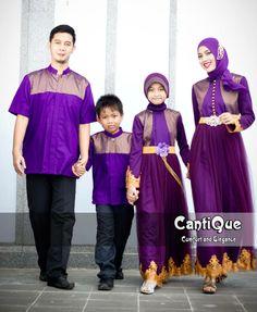 Ungu memang selalu menggoda dan mempesona. Silahkan buktikan sendiri... http://bajupestamuslim.net/sarimbit-gaun-pesta-muslim-family-ungu.html