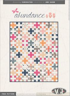"""Abundance"" pattern from Art Gallery Fabrics features fabric from their collection, ""Curiosities"""